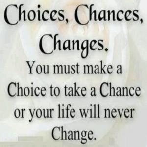 Take Chance Quotes Taking...