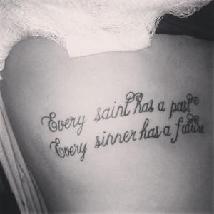 Credited Tattoopins Quoteko