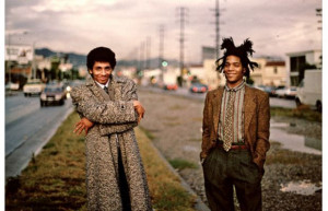 Basquiat produced a rap record with Fab Five Freddy and Rammellzee ...