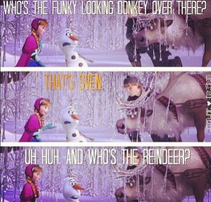 Frozen-- olaf!!!!! I LOVE HIM!