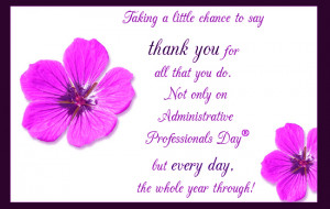 Thank You For All That You Do...