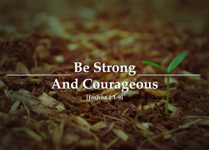 ... persecuted with strength and courage let s pray for courage this week