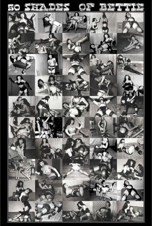 Bettie Page - 50 Shades Poster