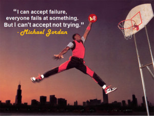 Michael Jordan Picture Quote