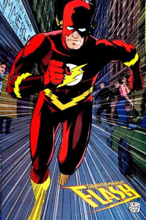 Image Flash Wally West Ics