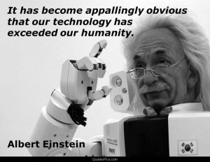 albert einstein einstein humanity technology