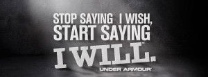Motivational Sports Quotes Under Armour Under armour