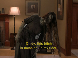 lawl, lol, scary movie, the ring