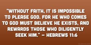 Hebrews Quote Reverent...