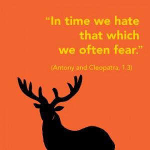 ... fear.
