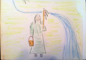 Sacred Women !! Women Pray the Water