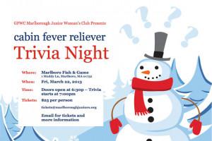 Cabin Fever Reliever Trivia...