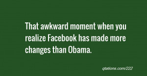 The Moment You Realize Are...
