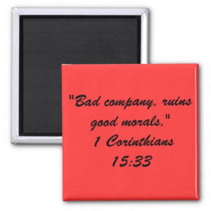 Bible Quote Mag Refrigerator Magnets