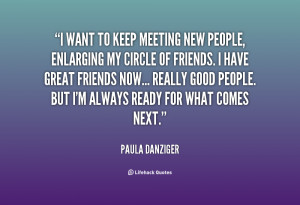 Meeting New People Quotes