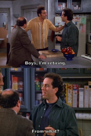 Seinfeld The Wizard- quote