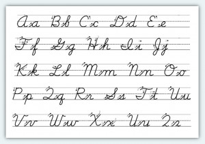 How To Write In Cursive_Cursive In Schools_Orlando Digital Media ...
