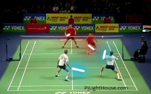 ... funny badminton game on youtube that you must watch badminton jedi