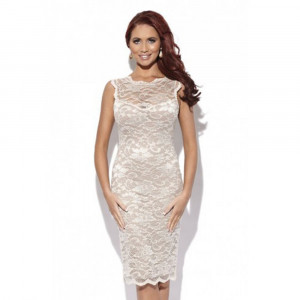 Amy Childs Lexi Dress Pink Lace