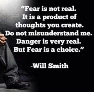 Get over fear