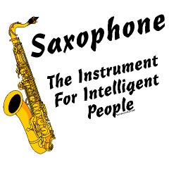 Home : Saxophone : Intelligent Sax Custom T-Shirts