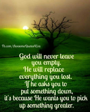 good quote about God's guidance.The Lord, God Will, Remember This ...