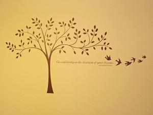 Decor Elements tree Christian Sympathy Quotes
