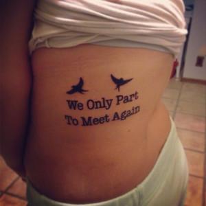 Memorial Tattoo Quotes For Grandpa Popular memorial quote tattoo