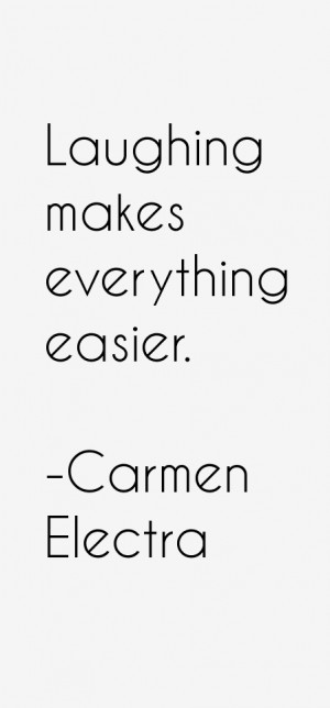 Carmen Electra Quotes amp Sayings
