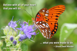 Sayings, Quotes: Orison Swett Marden