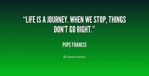 Pope Francis Quotes On Life