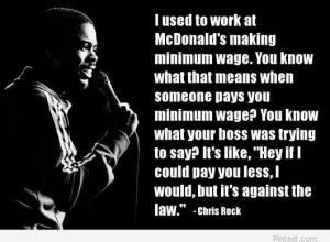 Funny Chris Rock quote
