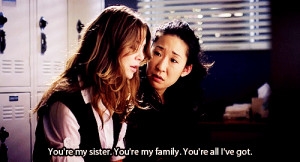 Christina and Meredith Friendship Quotes | images of grey s anatomy ga ...