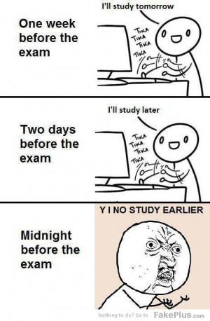 no study earlier