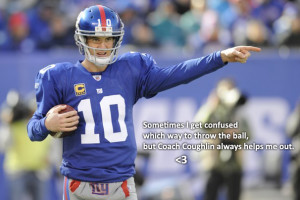 While We Were Bored: a Dedication to Eli Manning