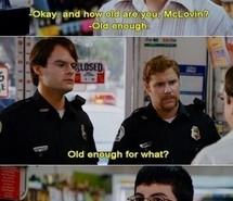 funny, mclovin, movie, quote, superbad