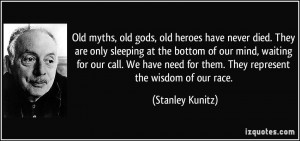 Old myths, old gods, old heroes have never died. They are only ...