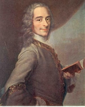 The French philosopher Voltaire... CANDIDE ♥♥♥