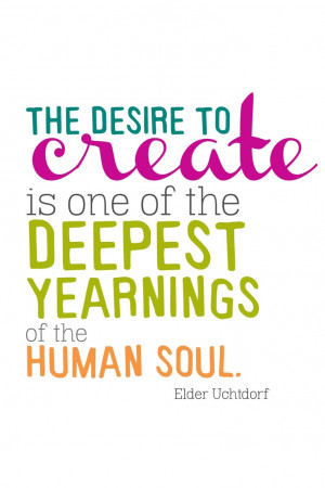 ... one of the deepest yearnings of the human soul - Elder Uchtdorf #quote