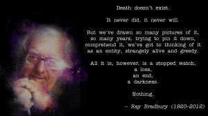 Ray Bradbury motivational inspirational love life quotes sayings ...