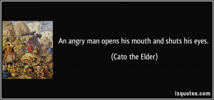 Angry Man Quotes