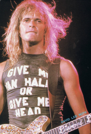 Give Me Van Halen Or Give Me Head