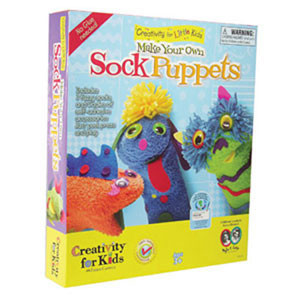 Make Your Own Sock Puppets...