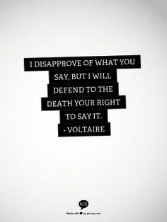 Freedom of speech Vrijheid van meningsuiting
