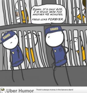 Prison guard problems
