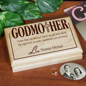 godparent s valet box our personalized godfather godmother valet box ...