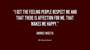 Respect Me Quotes