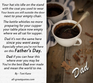 Father's Day In Heaven