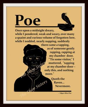 Poe Raven Quotes Edgar allan poe raven poem