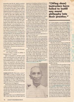 Yip Man's Wing Chun Legacy